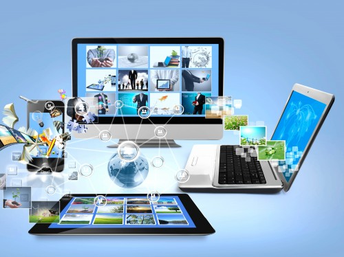 Ноутбук, планшет, монитор