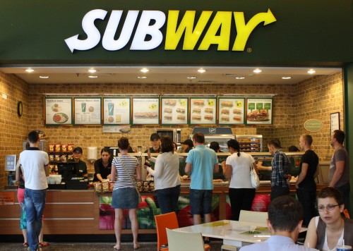 Subway partners