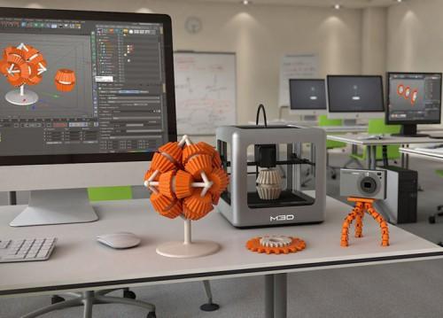 Печать 3Д скульптуры на 3Д принтере