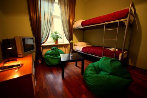 Комната простого хостела