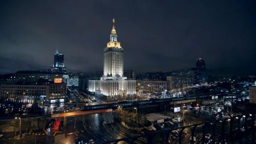 Сталинская высотка в Москве