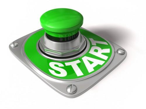 Зелёная кнопка старт