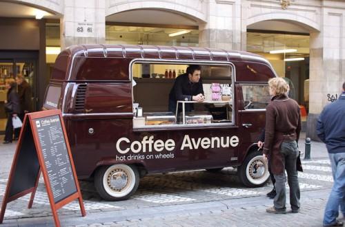 Кафе на колёсах