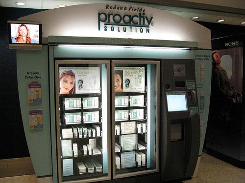 Вендинговый автомат по продаже косметики