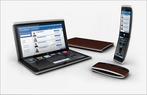 Ноутбук и телефон для бизнеса в интернете