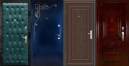 Разные металлические двери