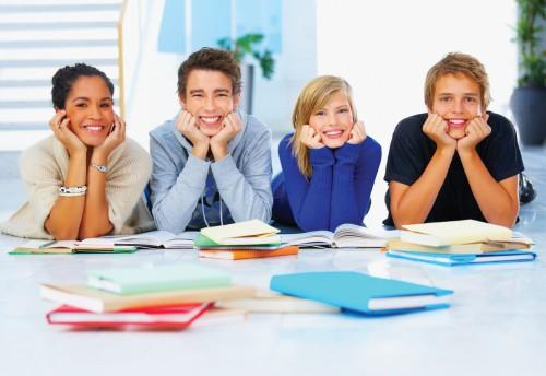 Ученики школы ин. языков