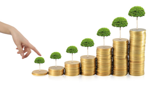 Из монеток растут деревья