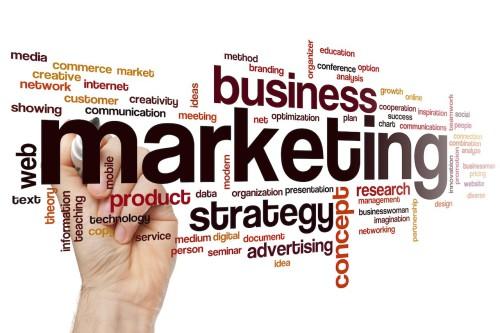 Слово маркетинг написанное по английски и другие слова из этой области