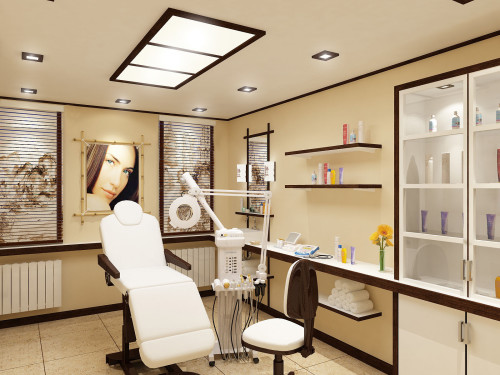 Уютный косметологический кабинет