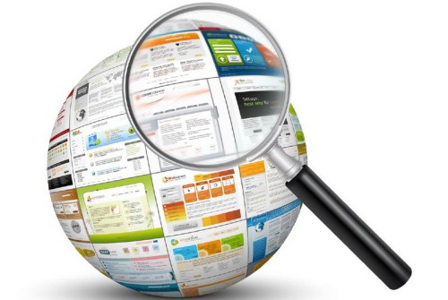 Лупа и объявления в интернете