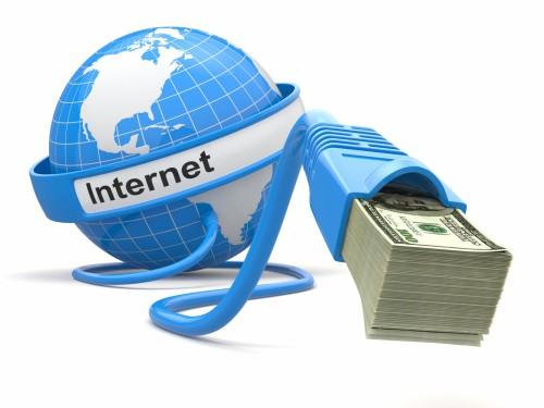 Интернет выдаёт доллары