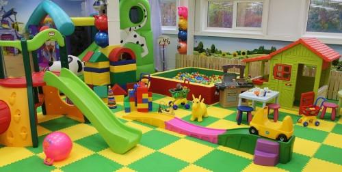 Красивая детская игровая комната