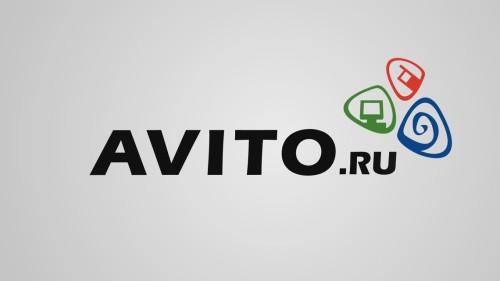 Ссылка и логотип Авито