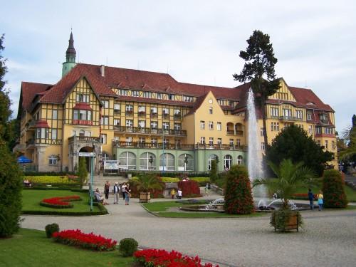 Фонтан в Польше