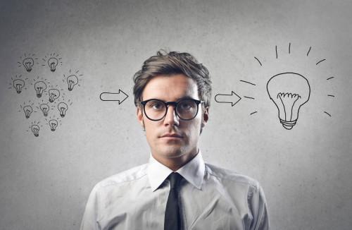 Идеи приходят в голову молодому человеку