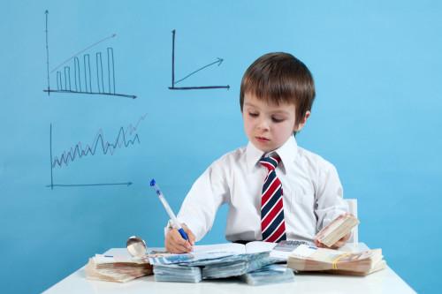 Ребёнок делает бизнес