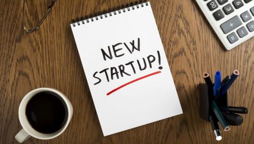 Надпись в блокноте - новый бизнес