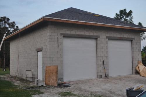 Каркасный гараж своими руками 4 6