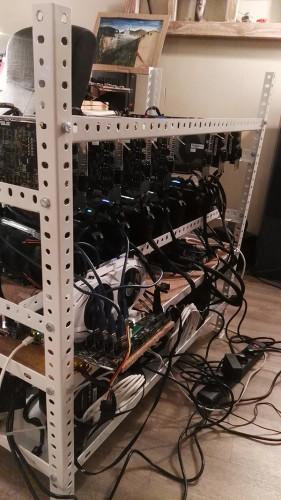 Машина, устройство для майнинга криптовалюты Эфира фото 2