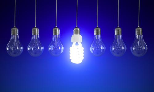 Лампочки идеи