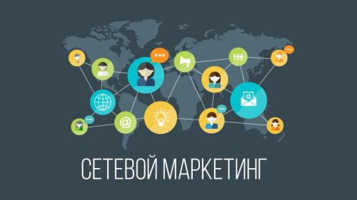 Стандартная схема того, как работает сетевой маркетинг