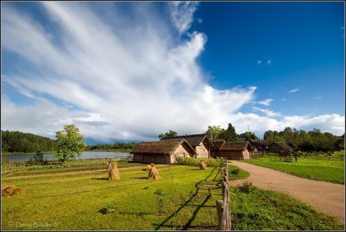 Небольшое село