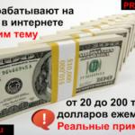 Обзор ТОП 10-ти сайтов России, которые приносят владельцам в месяц от 20 до 200 тысяч долларов чистыми