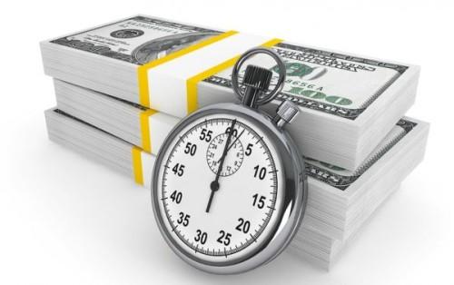 Доллары и секундомер