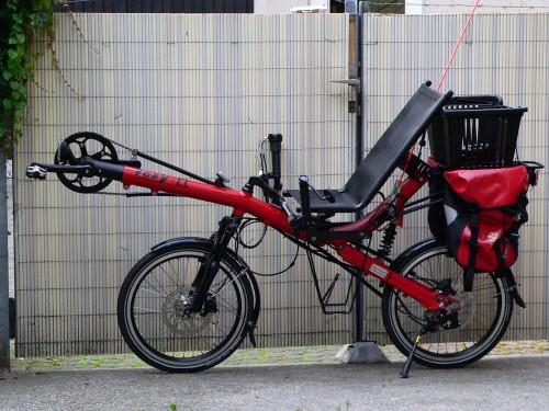 Оригинальный, инновационный велосипед