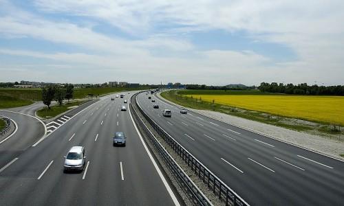 8-ми полосная трасса, автомагистраль