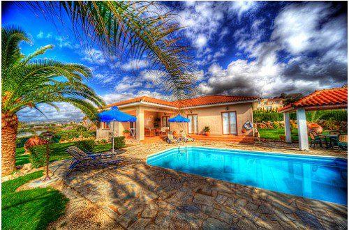 Частный дом на Кипре, HDR фото