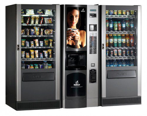 Вендинговый кофейный автомат