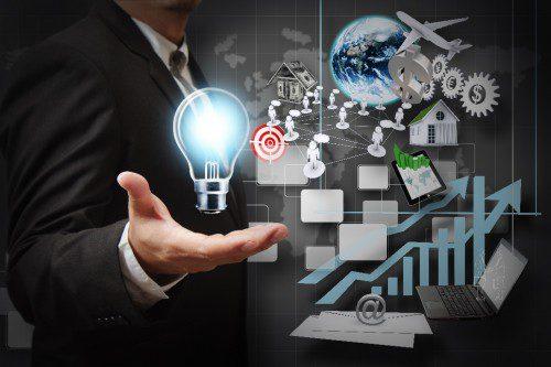 Лампочка символизирующая бизнес