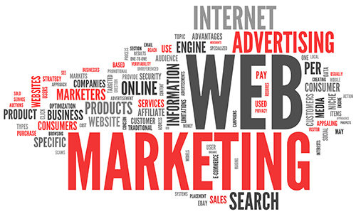 Надписи - реклама в интернете, маркетинг