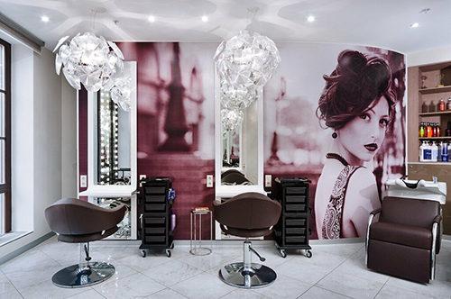 Красивый салон красоты