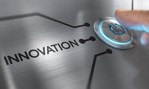 Надпись инновация
