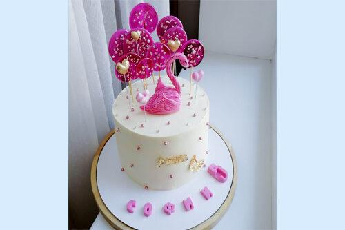 Авторская домашняя выпечка, очень красивый торт